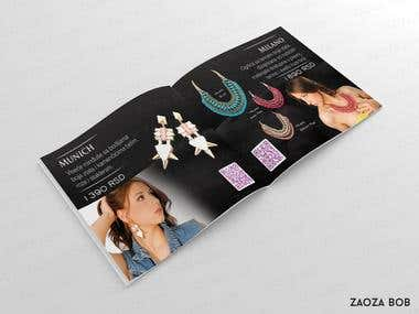 Jewelery catalogue design