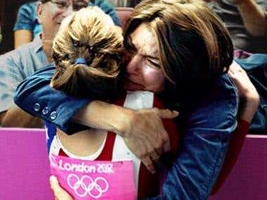 "2012 Olympics ""Thank You Mom\"""