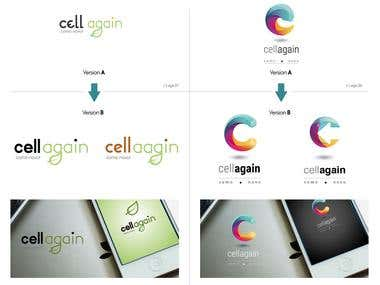 CellAgain - Visual Identity