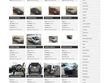 Vehicle online Directory portal development
