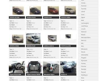 Vehicle online Directory portal development