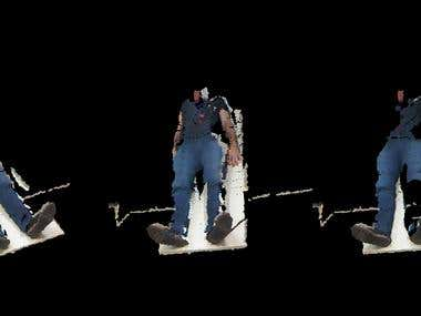 3D Reconstruction using Kinect camera
