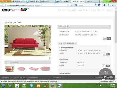 A Gorgeous Furniture Website for Malayasia