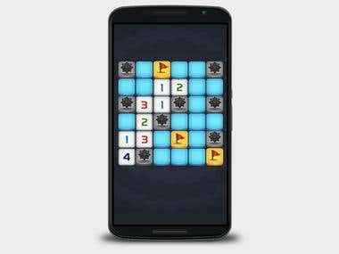 Responsive Minesweeper Game