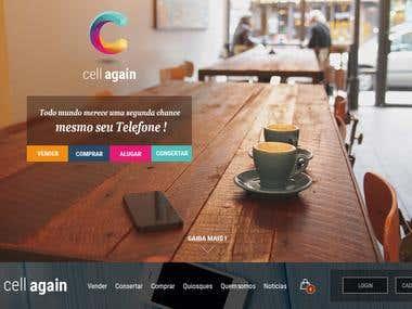 CellAgain - Online Platform