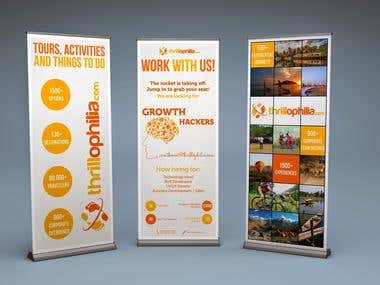 Standee & Brochure Design