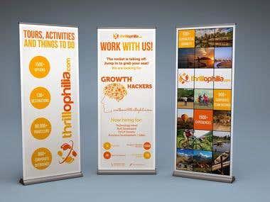 Standee & Brochure Design