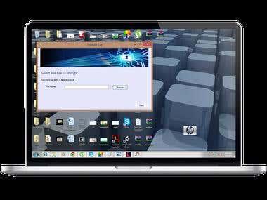 File Encode desktop Application
