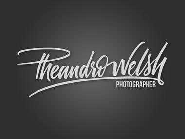 Pheandro Welsh Lettering Logo