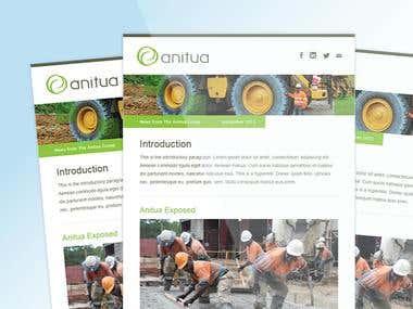 Anitua MailChimp Template