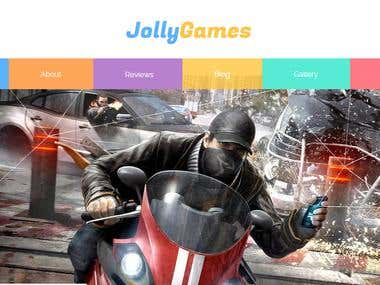 jolly games theme