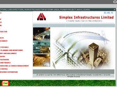 Simplex Site Solution (Web Application)