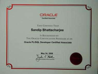 Oracle PL/SQL Developer Certified Associate (OCA)