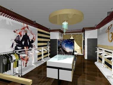 Retail Fashion House Design