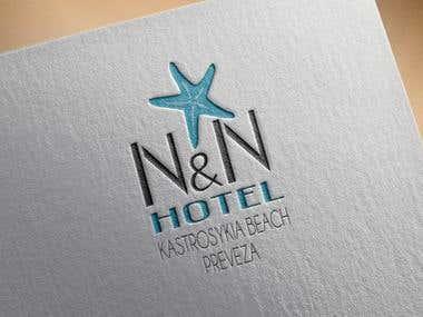 Logo Design for Hotel N&N in Preveza Greece