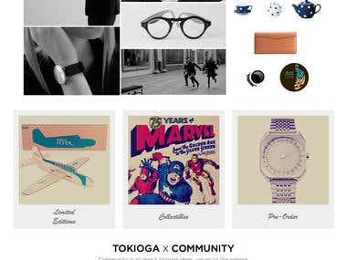 TokioGA - eCommerce Website