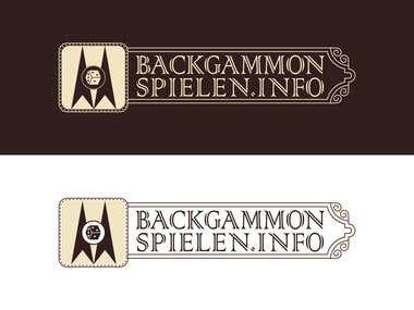 Contest winning logo Backgammon