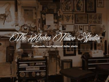 Parallax based tattoo studio website.