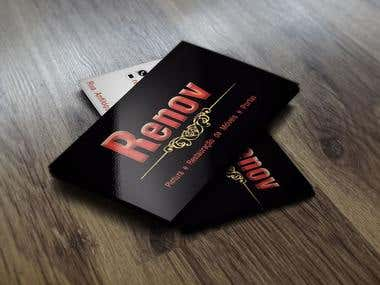 Cartão de Visita Renov