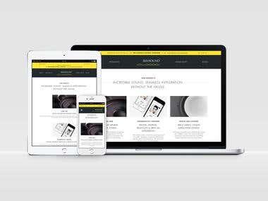 Bavsound - Responsive Design