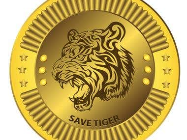 Gold Coin Design for Indian Government