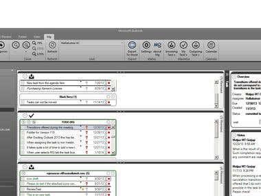 Outlook Task Management and Meetings Helper Plugin