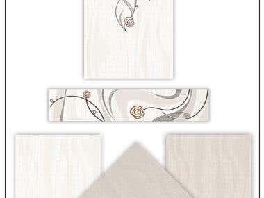 Floor tiles and wall tiles design