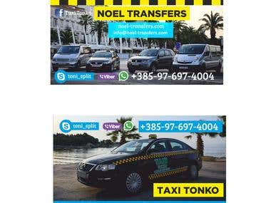 TAXI BUSSINES CARD