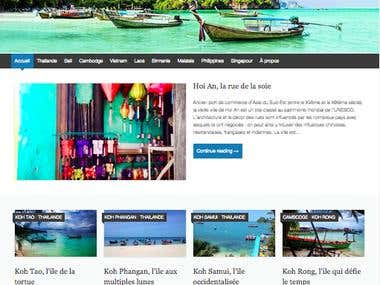 Travel Blog articles (South East Asia) - French