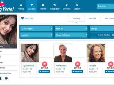 Dating Portal Website