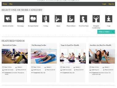 Gym Booking Website