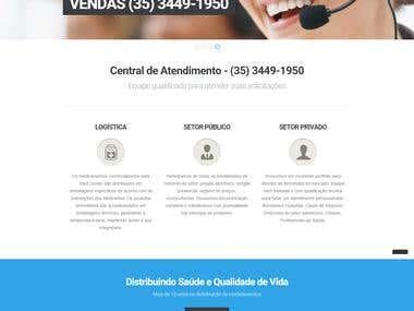 Website Med Center Comercial