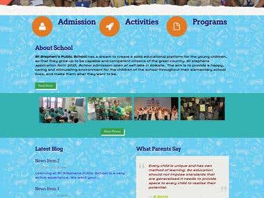 School Website (http://www.stephensschool.in/)
