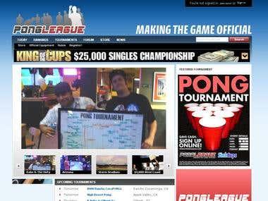 Pong league