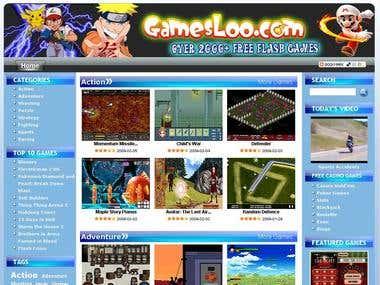 Online Gamin Portal