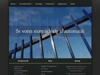 Blacksmith Website