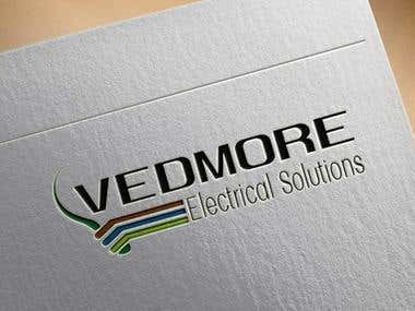 Design a Logo for Vedmore Electrical Solutions