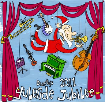 Yuletide Jubilee CD Cover