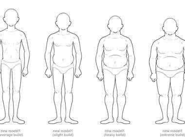 Body Image App Illustration