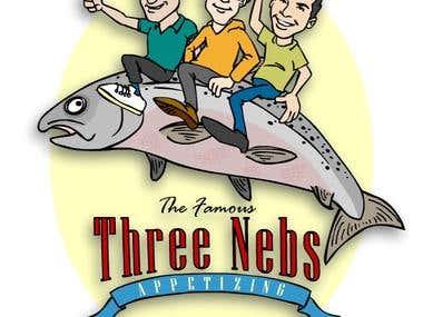 Three Nebs Lox Label