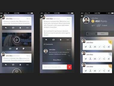 User Interface Design (iOS)
