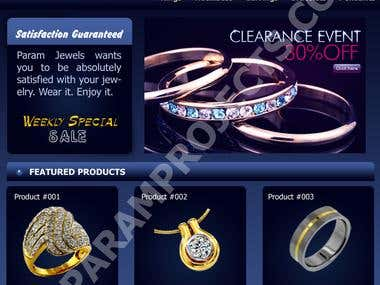 blue jewellery fashion