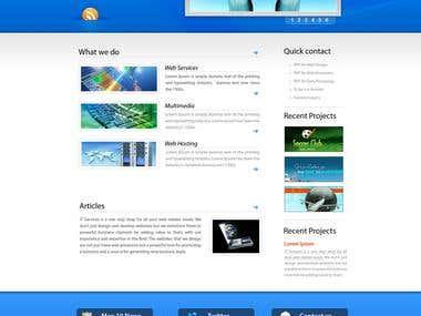 Coperate Website
