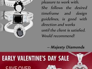 web banners - Majesty Diamonds