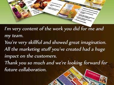 print & packaging materials - Forever Living Products