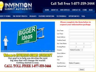 INVENTION SUBMIT AUTHORITY