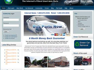 Tom Foreign Auto Parts
