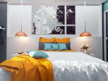 Abdul-Waliy Bedroom
