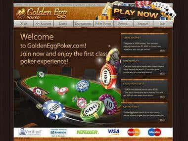 Goldeneggpoker.com