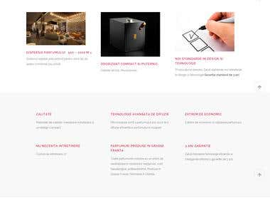 Scenting Devices Branding & Responsive WordPress Website